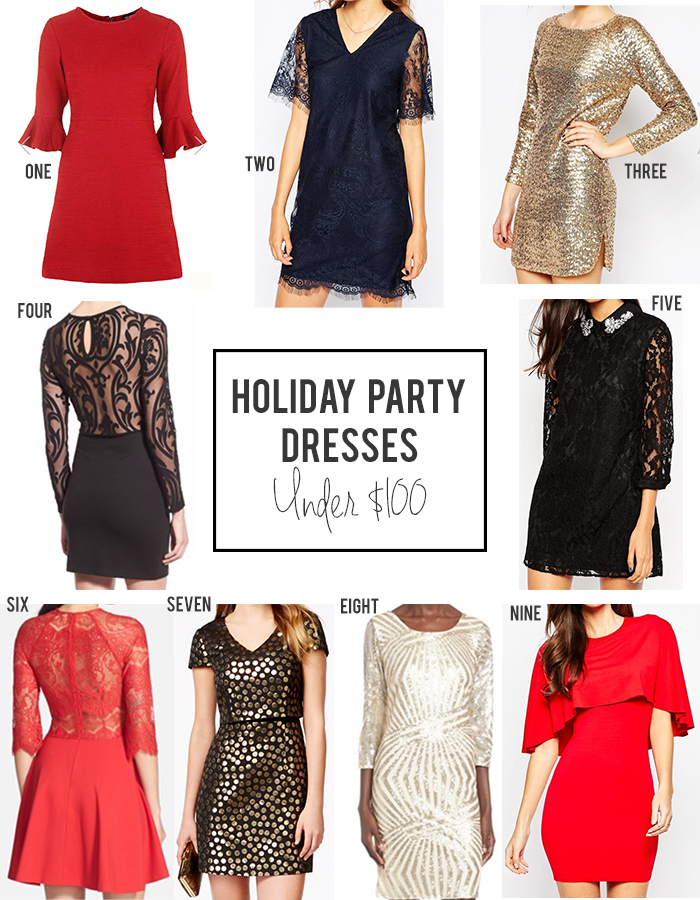 dress - Party Holiday looks under $100 video