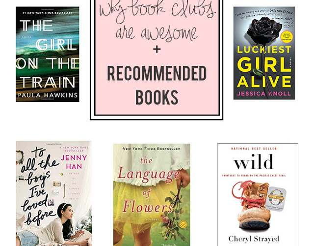 Why Book Clubs Are Awesome + Our Recent Reads