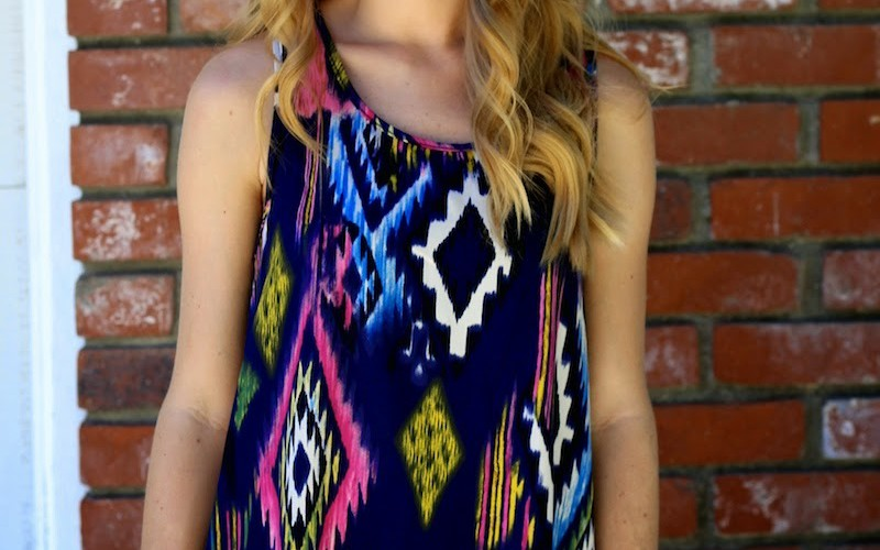 Tribal Print & White
