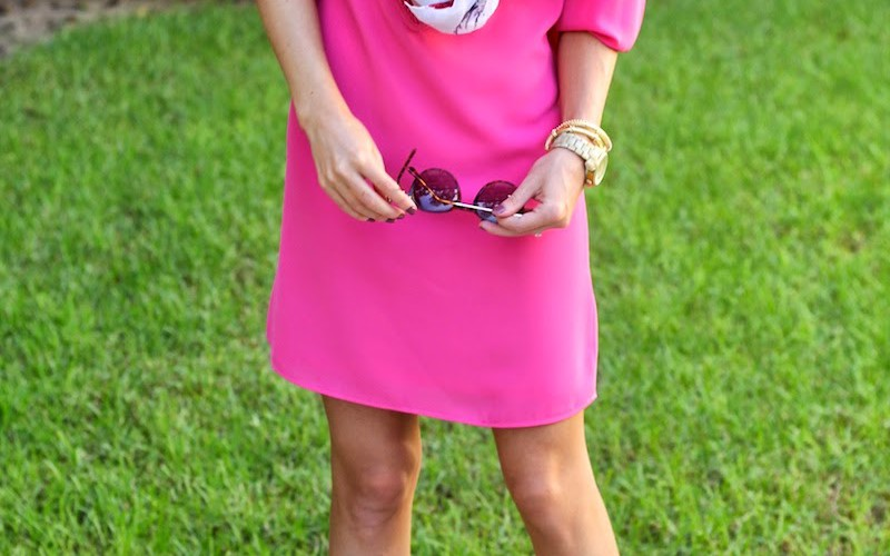 Crocheted Pink Dress + Giveaway