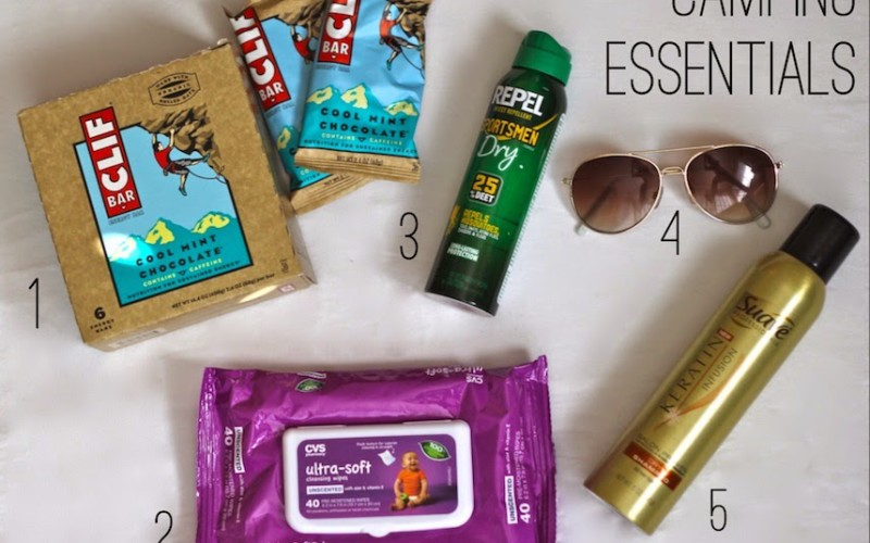 Camping Essentials for Your Inner (Or Outer) Diva