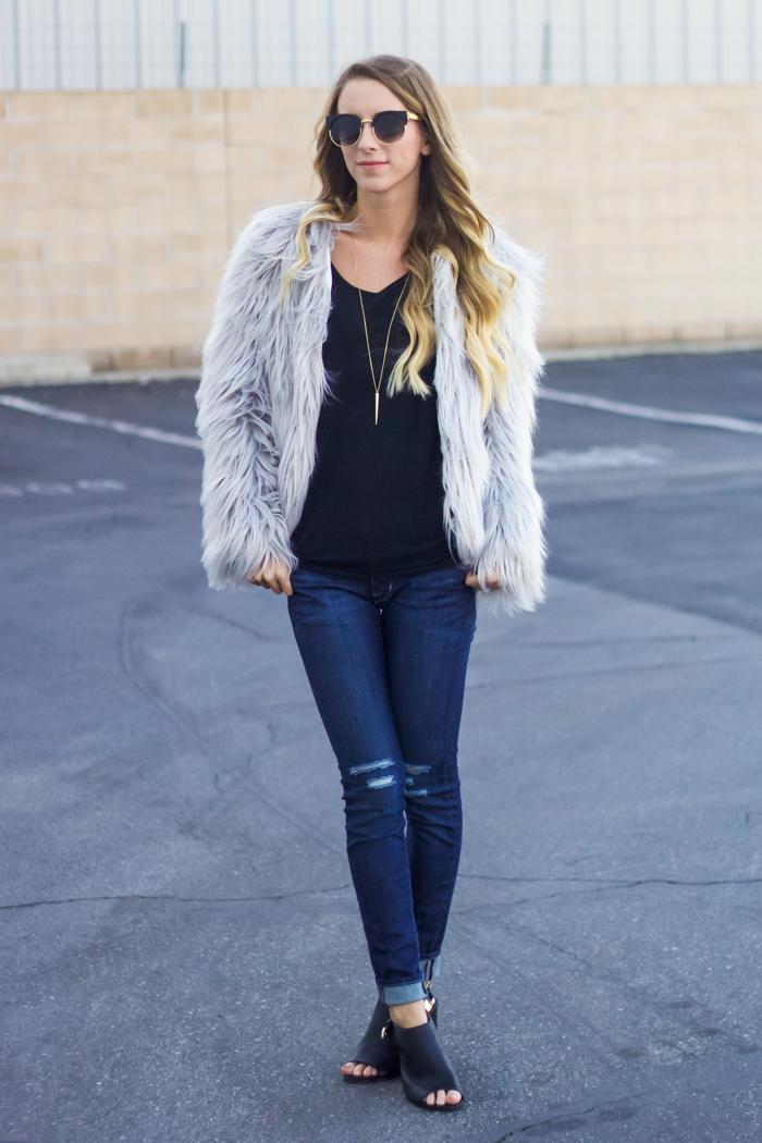 Multiple Ways to Wear a Fur Coat