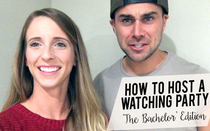How To Host a Watching Party (The Bachelor Edition)