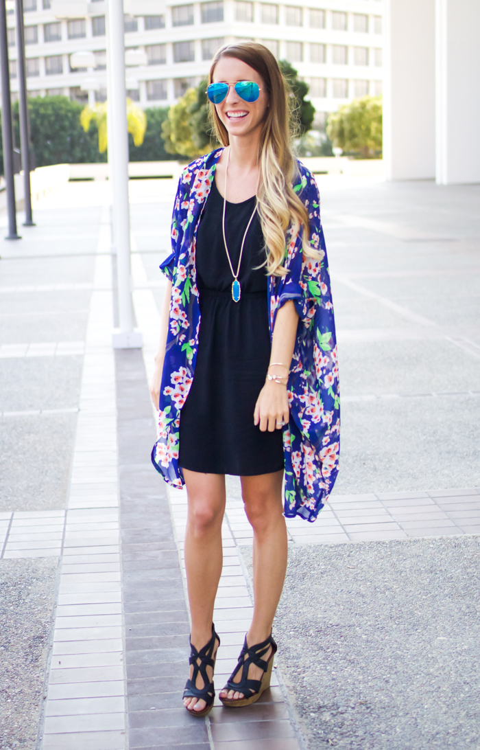 Kimono Outfit + A Giveaway || Happily Howards
