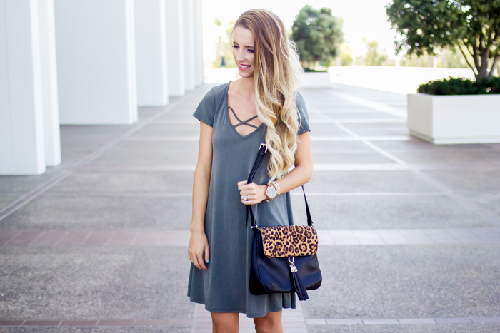 Olive Dress + My Favorite Fall Staples