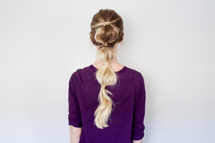 Bubble Ponytail
