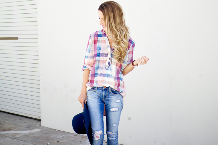 Fall Plaid Outfit