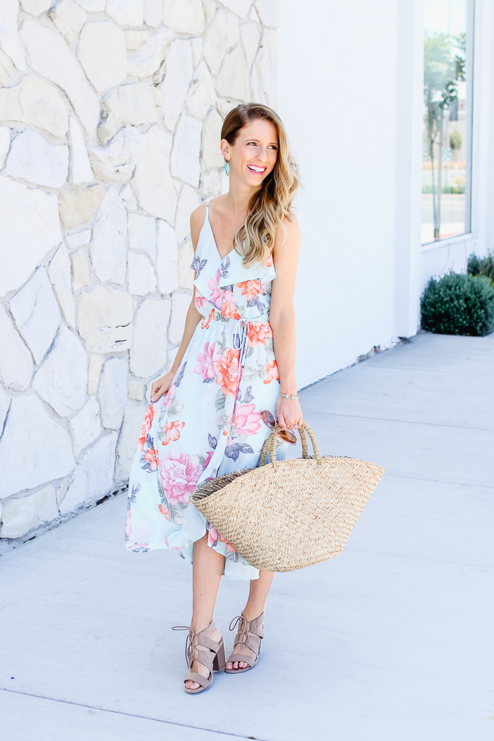 Summer Dress and Tote